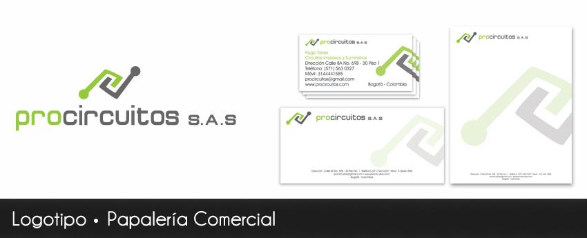 logo y papeleria comercial